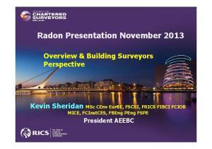 Radon Presentation November 2013