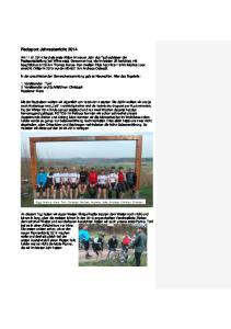 Radsport Jahresbericht 2014