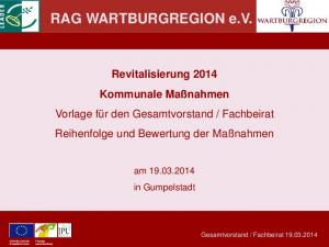 RAG WARTBURGREGION e.v
