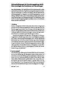 Rahmenbedingungen der Verordnungsgebung: Rechtliche Grundlagen und Funktionen von Verordnungen