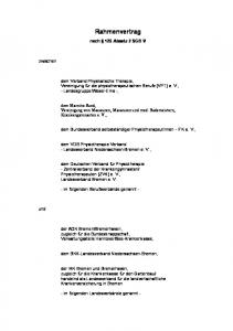 Rahmenvertrag. nach 125 Absatz 2 SGB V
