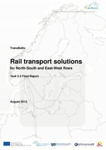 Rail transport solutions