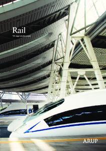 Rail. We shape a better world