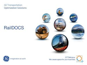 RailDOCS. OTTIMA plus We create space for your business