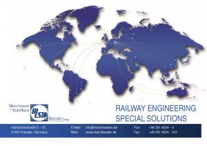 RAILWAY ENGINEERING SPECIAL SOLUTIONS
