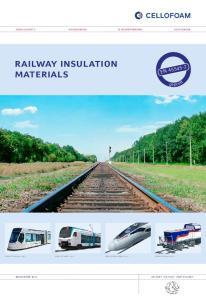 railway insulation materials