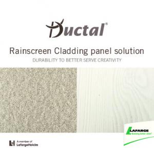 Rainscreen Cladding panel solution DURABILITY TO BETTER SERVE CREATIVITY