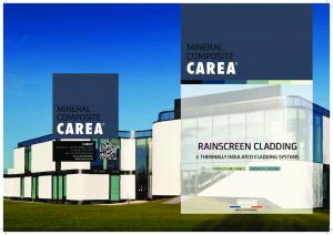 RAINSCREEN CLADDING & THERMALLY INSULATED CLADDING SYSTEMS