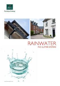 RAINWATER PVC GUTTER SYSTEMS