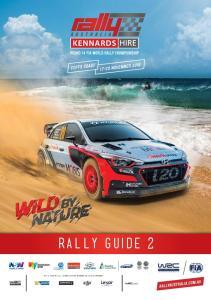 RALLY GUIDE 2 FIA WORLD RALLY CHAMPIONSHIP INTERNATIONAL PARTNERS