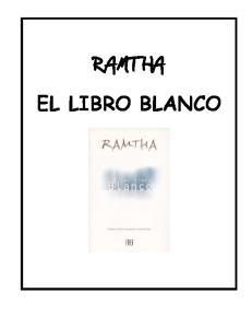 RAMTHA EL LIBRO BLANCO