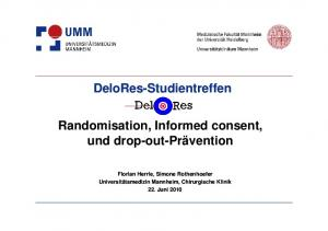 Randomisation, Informed consent,