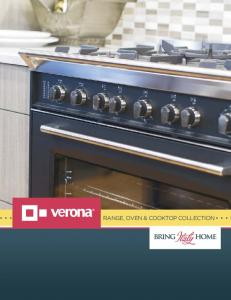RANGE, OVEN & COOKTOP COLLECTION
