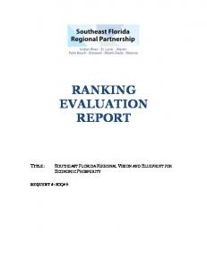 RANKING EVALUATION REPORT