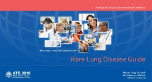 Rare Lung Disease Guide