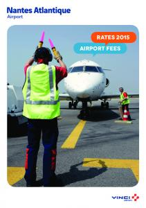 RATES 2015 Airport fees