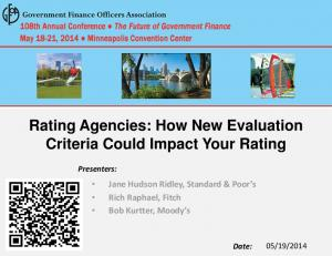 Rating Agencies: How New Evaluation Criteria Could Impact Your Rating