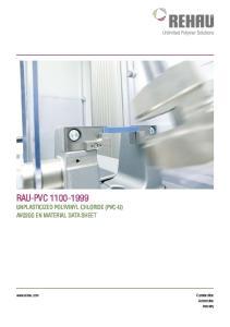 RAU-PVC Unplasticized polyvinyl chloride (PVC-U) Automotive Industry
