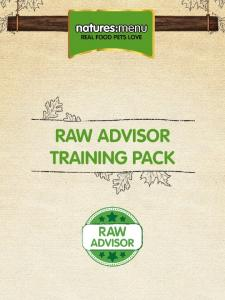 RAW ADVISOR TRAINING PACK