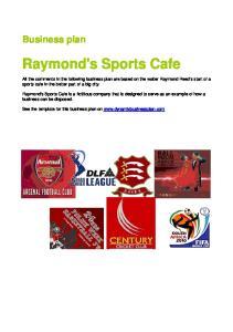 Raymond's Sports Cafe