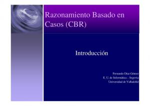 Razonamiento Basado en Casos (CBR)