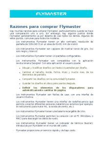 Razones para comprar Flymaster