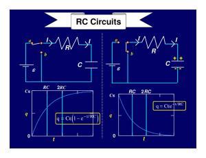 RC Circuits RC 2 RC