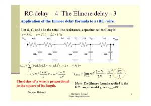 RC delay 4: The Elmore delay - 3