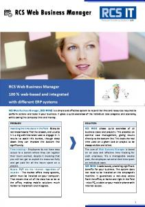RCS Web Business Manager