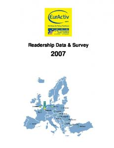 Readership Data & Survey