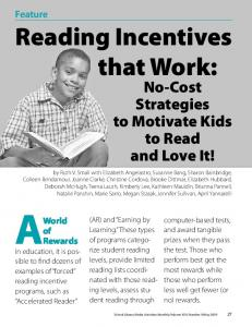 Reading Incentives that Work: