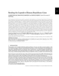 Reading the Legends of Roman Republican Coins