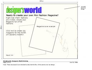 Ready to create your own Mini Fashion Magazine?