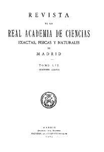 REAL ACADEMIA DE CIENCIAS