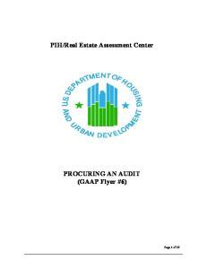 Real Estate Assessment Center