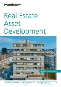 Real Estate Asset Development