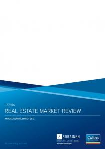 REAL ESTATE MARKET REVIEW