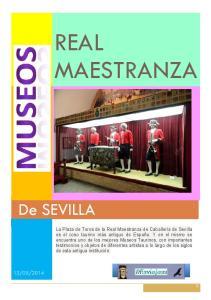 REAL MAESTRANZA. De SEVILLA