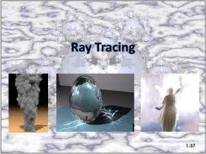Real Time Ray-Tracing