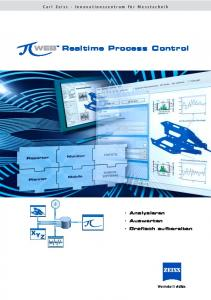 Realtime Process Control