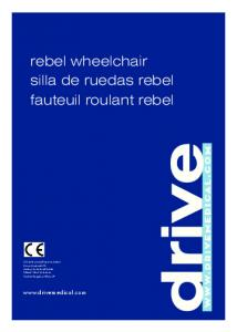 rebel wheelchair silla de ruedas rebel fauteuil roulant rebel