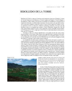 REBOLLEDO DE LA TORRE