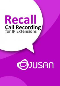 Recall. Call Recording. for IP Extensions