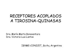 RECEPTORES ACOPLADOS A TIROSINA-QUINASAS