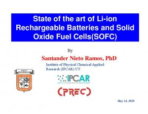 Rechargeable Batteries and Solid