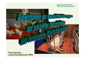 Rechtliche Rahmenbedingungen der Schweinehaltung