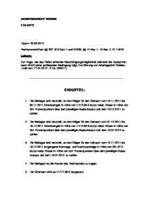 Rechtsvorschriften: 297, 615 Satz 1 und 3 BGB, 14 Abs. 1, 15 Abs. 2, 21 TzBfG