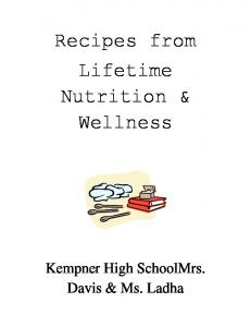 Recipes from Lifetime Nutrition & Wellness