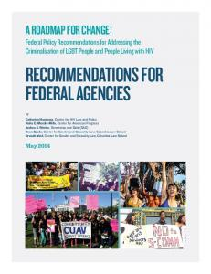 Recommendations for Federal Agencies