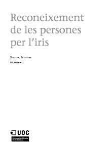 Reconeixement de les persones per l iris